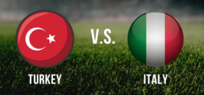 EM-odds – Tyrkia mot Italia