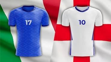 Italia mot England i EM-finalen – Oddsspill